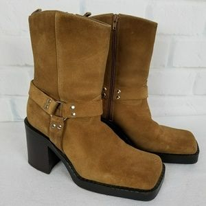 Arizona Jean Company Women Suade Boots Size 10M